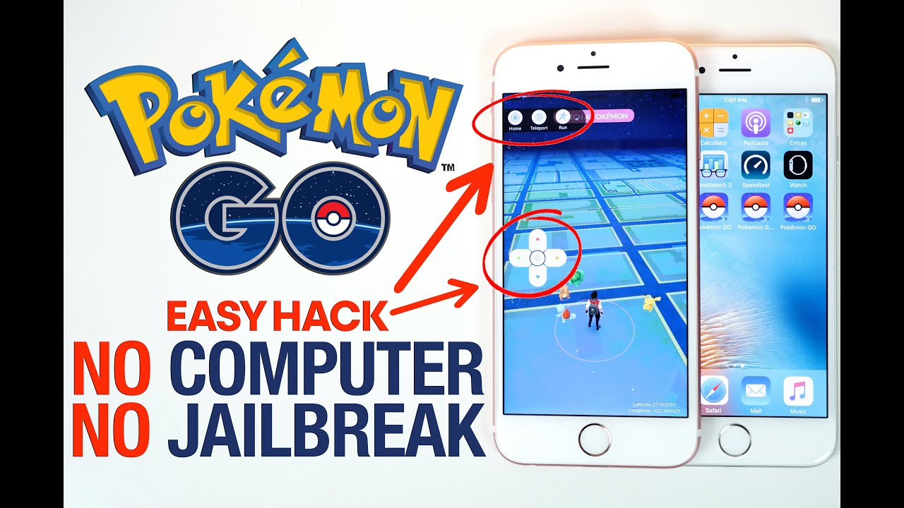 Pokemon go hack no computer joystick location spoofing youtube voltagebd Gallery