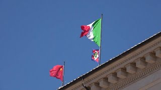 Italia-Cina, c'è Xi Jinping: sul Quirinale sventola bandiera rossa
