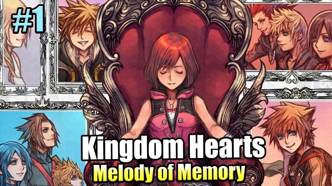 Kingdom Hearts Melody of Memory #1 — Что Номура Нам Готовит {Switch} прохождение часть 1