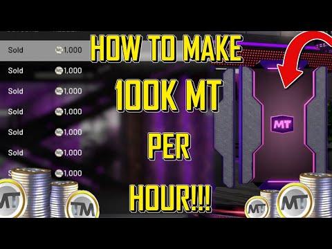 How to make MT in NBA 2K20! Make 100K MT in 1 HOUR! Best MT making METHODS! (NBA 2K20 MYTEAM)