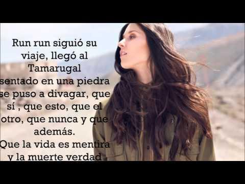 Run Run se fue pal' Norte - Francisca Valenzuela (letra)