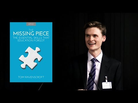 Tom Ravenscroft launches 'The Missing Piece: The Essential Skills that Education Forgot'