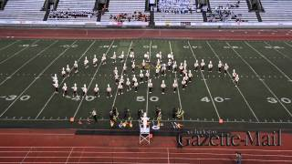 George Washington - 2015 Gazette-Mail Majorette and Band Festival