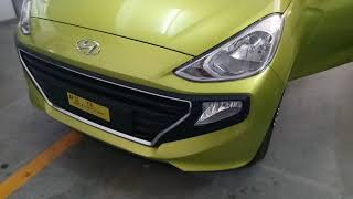 Hyundai Santro Diana Green colour review