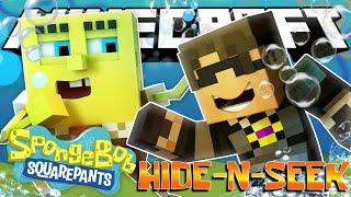 Minecraft Spongebob Hide N Seek! PLANKTON NEVER PLAYS FAIR!