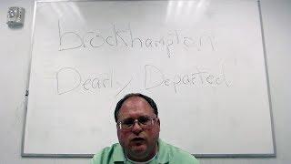 THERAPIST BREAKS DOWN BROCKHAMPTON'S SONG 'DEARLY DEPARTED'
