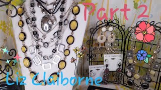 3 lb. Designer Jewelry Jar Unboxing Haul! (Part 2) Liz Claiborne