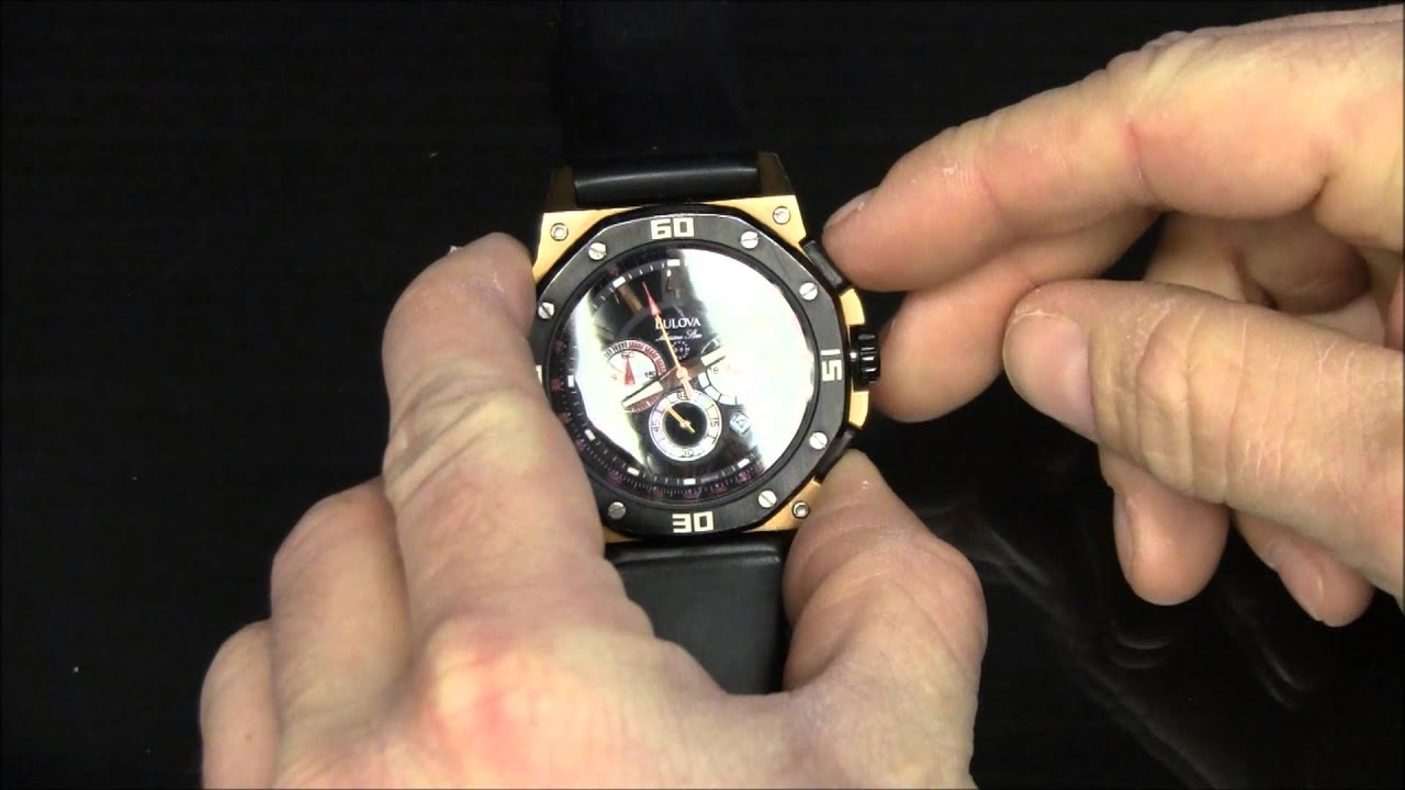 a0257dbb4b0 How to Reset the Second Hand on a Bulova Marine Star Watch Chronograph