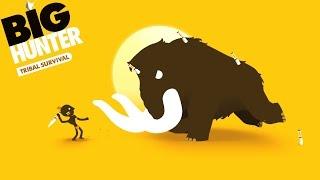 BIG HUNTER survival БОЛЬШОЙ ОХОТНИК выживание племени Животные игровой мультик для детей Animals