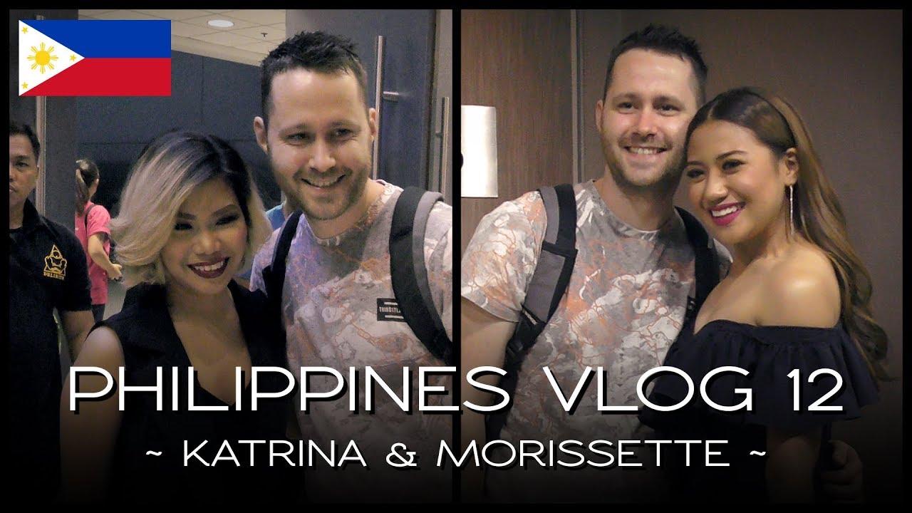 Meeting Katrina & Morissette - PHILIPPINES VLOG 12 - YouTube