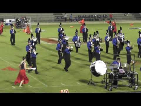 Rehobeth High School Marching Band 10052018