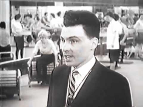 """SYVC # 96 Swami Vishnu's Fitness film """"Ninety pound weakling."""" 1960 Canada"""