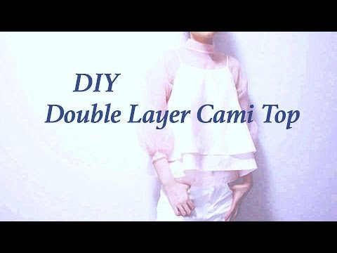 DIY Double Layer Cami Topㅣmadebyaya