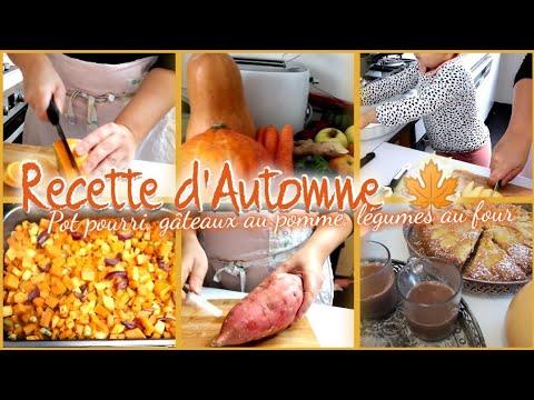 🍁🍠recette-d'automne-simple-,-rapide,-&-super-bonnes//cuisine-avec-moi-gâteaux-pot-pourri-fait-maison