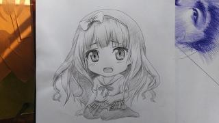 Vẽ Chibi manga - DP Trương