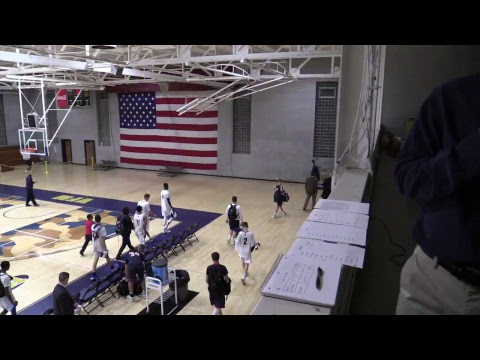 Valley Forge Military Academy Basketball vs Holy Ghost Prep - 12.12.17