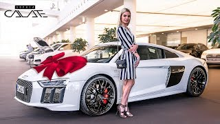 My NEW car | AUDI R8 RWS | Delivery at AUDI GERMANY