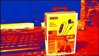 Boya M1 mic Unboxing & Review    Best budget mic