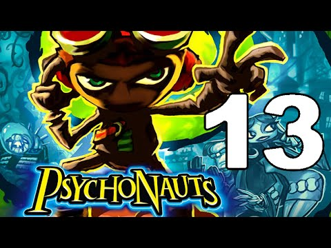 Let's Play Psychonauts Part 13: Shadowy Government Agencies