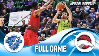 Dinamo Sassari v Leicester Riders BC - Full Game - FIBA Europe Cup 2018-19