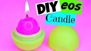 DIY EOS CANDLE! How to Make EOS Candles!
