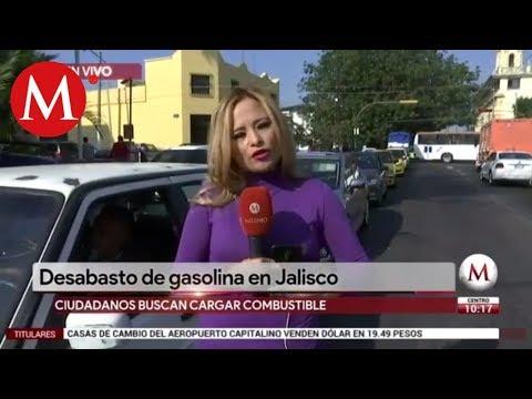Desabasto de gasolina en Jalisco