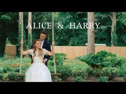 Harry + Alice's Wedding Film at Tyn Dwr Hall, Llangollen