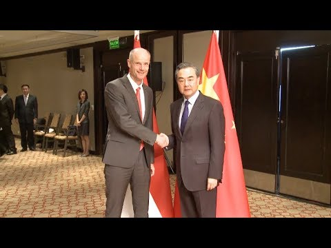 Chinese, Dutch FMs Meet on Bilateral Ties, BRI