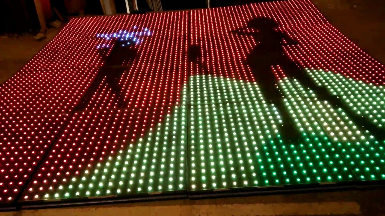 New Led Dance Floor For And Dj Studio74events 9815187061