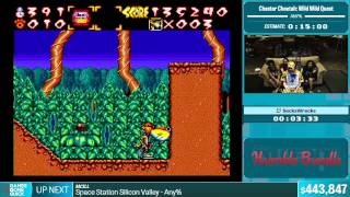 Chester Cheetah: Wild Wild Quest by SecksWrecks in 11:15 - Summer Games Done Quick 2015 - Part 91