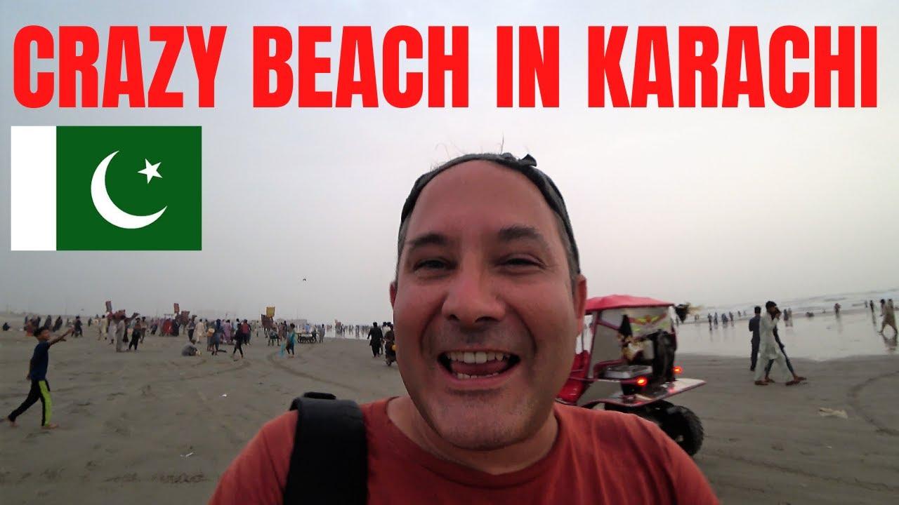 CRAZY BEACH IN KARACHI / SEA VIEW BEACH SINDH / PAKISTAN TRAVEL VLOG