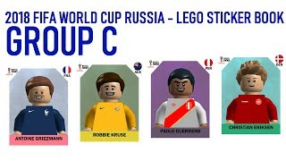 Lego World Cup Sticker Book - Russia 2018 - Group C