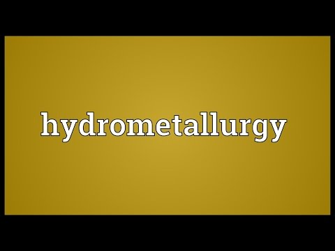 Header of hydrometallurgy
