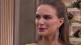 Natalie Portman at 2017 Golden Globes Red Carpet