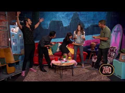 George Lopez Star Masiela Lusha Reveals Pregnancy On The Zoo | The Zoo