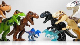 30 Fake Lego Dinosaur Toys Jurassic World Fallen Kingdom Kingdom - Canotaurus Indoraptor T-Rex