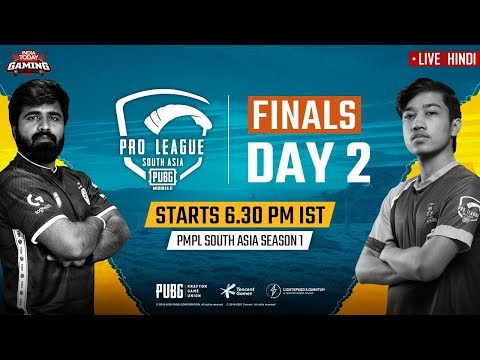 [Hindi] PMPL South Asia 2020 LIVE | PUBG Mobile Pro League 2020 LIVE STREAMING Finals Day 2