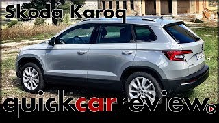 2017 Skoda Karoq - Testing the little brother of the Kodiaq | Full Review | Drive Report | English