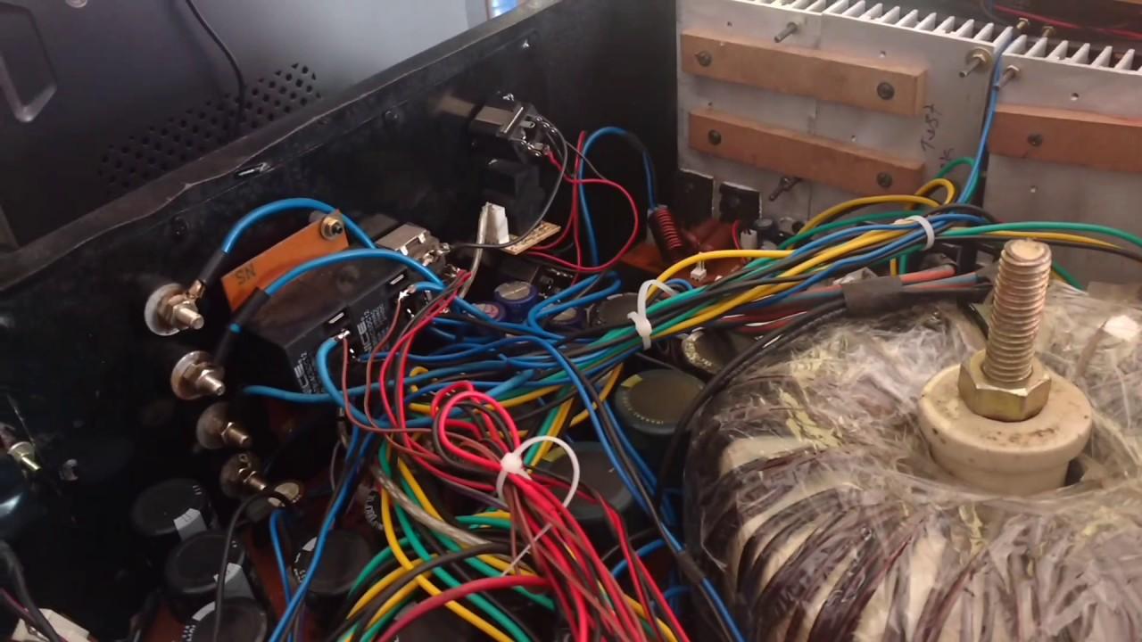 Tda7294 2sc5200 2sa1943 800watt Diy Amplifier Youtube 100w Audio