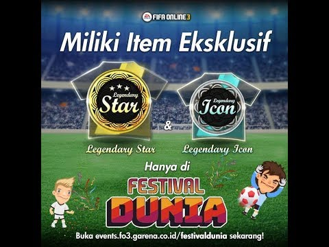 OPEN PACK LEGENDARY ICON! EVENT FO3 FESTIVAL DUNIA 2018