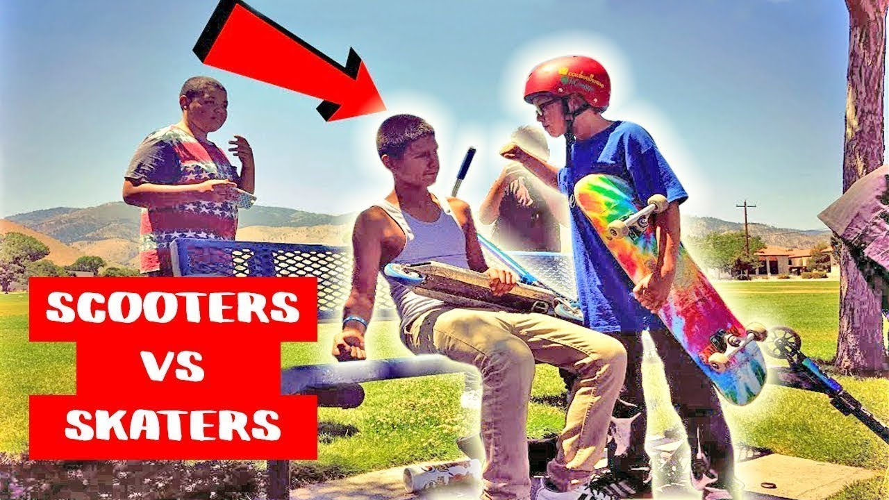 Download SKATERS VS HATERS FIGHT COMPILATION 2019!!SKATERS VS SCOOTERS!!DEADLIEST FIGHTS!!SKATING FAILS#39