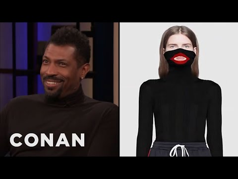 Deon Cole On Fashion's Blackface Problem - CONAN on TBS