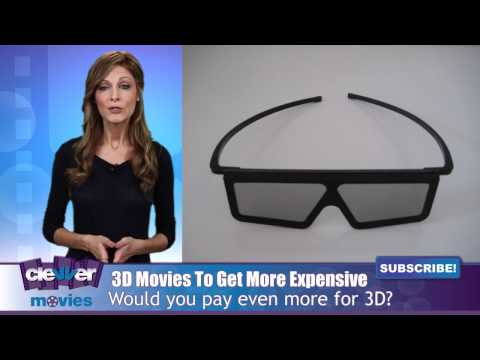 3D Movie Ticket Prices To Cost Even More Soon?