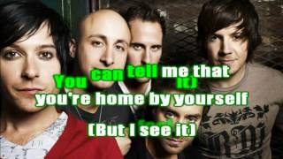Simple Plan - Your love is a lie - karaoke