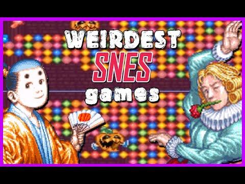 13 Weirdest Super Famicom Games - SNESdrunk