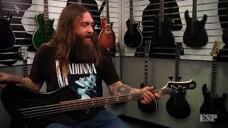 ESP Guitars: Aaron Deal (Darkest Hour) on the LTD JC-4FM