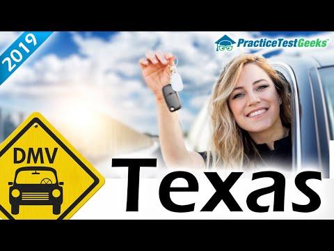 Texas TX DMV Driving Permit Test 2019