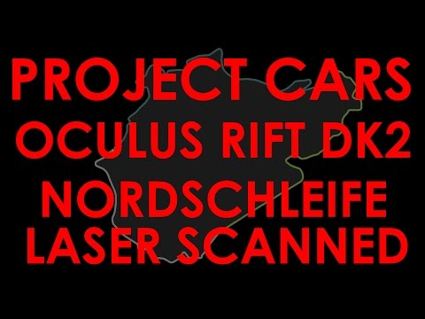 Project Cars - Oculus Rift DK2- Nordschleife - F1 - Lap Record