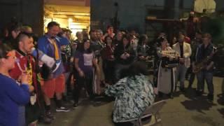 honk fest west 10 sousaphone leg off the after party