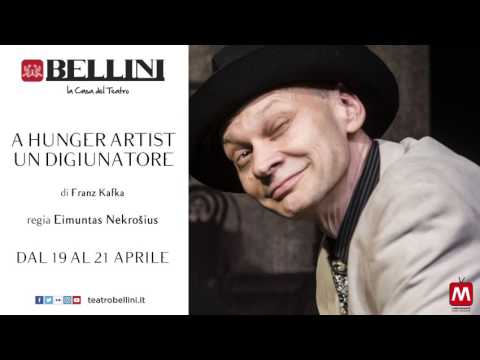 "Al Teatro Bellini dal 19 al 21 aprile ""A Hunger Artist"""